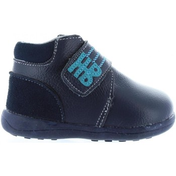 Zapatos Niños Botas de caña baja Happy Bee B167794-B1153 Azul