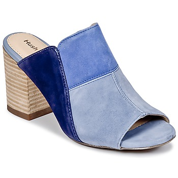 Zapatos Mujer Zuecos (Mules) Hush puppies SAYER Azul