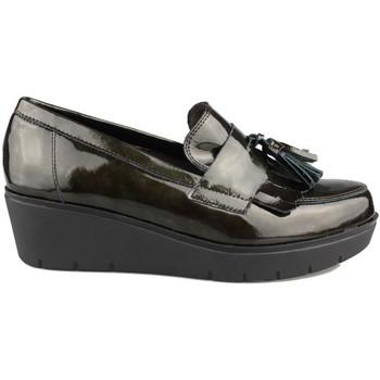Zapatos Mujer Mocasín Kroc MOCASIN CON CUÑA VERDE
