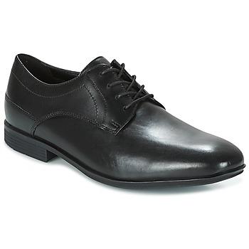 Zapatos Hombre Derbie Rockport SC PLAIN TOE Negro