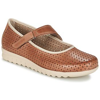 Zapatos Mujer Bailarinas-manoletinas Pitillos FARCO Marrón
