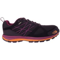 Zapatos Mujer Senderismo The North Face Litewave Goretex Negro-Violeta