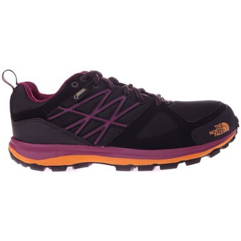 Zapatos Mujer Senderismo The North Face Litewave Goretex Violeta-Negro