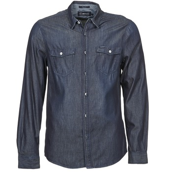 textil Hombre camisas manga larga Energie VETTEL Azul