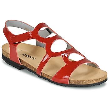 Zapatos Mujer Sandalias Arcus BERNER Rojo