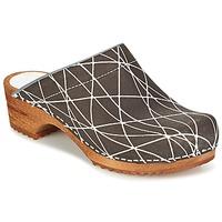 Zapatos Mujer Zuecos (Clogs) Sanita ARLA Antracita