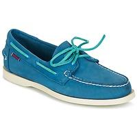 Zapatos Hombre Zapatos náuticos Sebago DOCKSIDES Azul