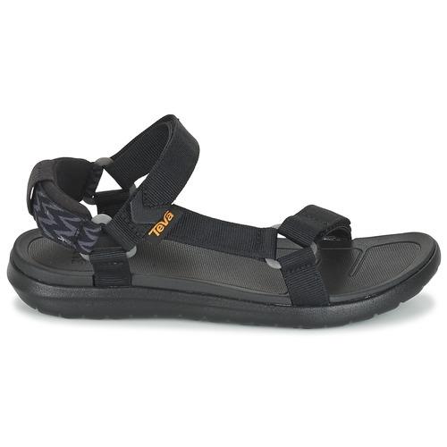 Sandalias Zapatos Sanborn Universal Mujer Teva Negro b6Y7gyvf