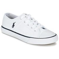 Zapatos Niños Zapatillas bajas Ralph Lauren DYLAND Blanco