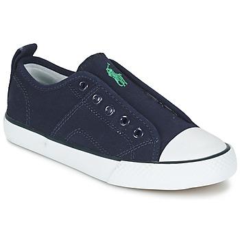 Zapatos Niño Zapatillas bajas Ralph Lauren RYLAND Marino