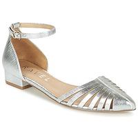 Zapatos Mujer Bailarinas-manoletinas Ravel MEDINA Plata