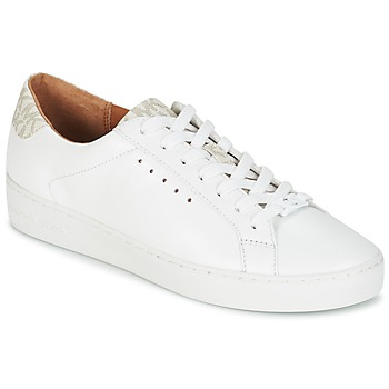 Zapatos Mujer Zapatillas bajas MICHAEL Michael Kors IRVING LACE UP Blanco