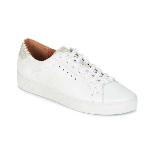 Zapatos Mujer Zapatillas bajas MICHAEL Michael Kors IRVING LACE UP Blanco