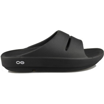 Zapatos Chanclas Oofos OOAHH BLACK