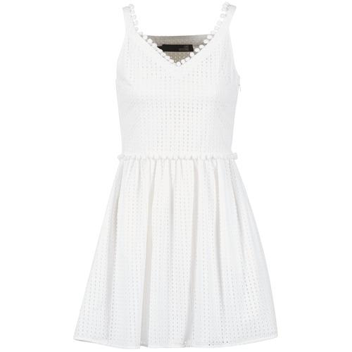 textil Mujer vestidos cortos Love Moschino WVF3880 Blanco