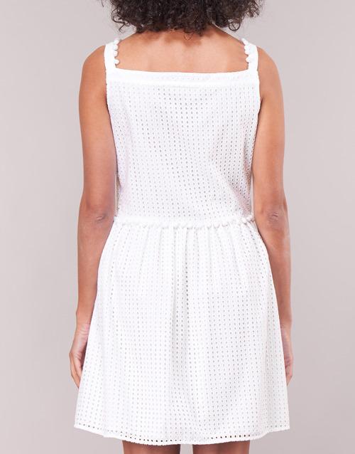 Wvf3880 Cortos Blanco Moschino Love Mujer Textil Vestidos v0N8nmw