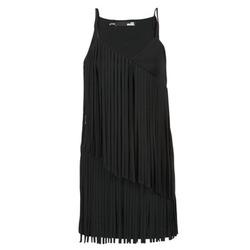 textil Mujer vestidos cortos Love Moschino W595800 Negro