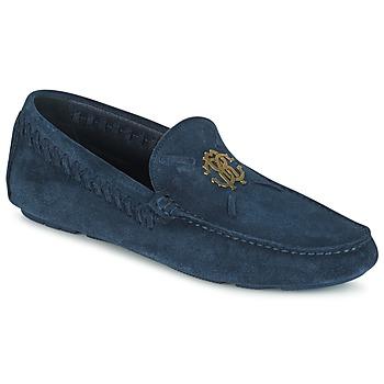 Zapatos Hombre Mocasín Roberto Cavalli 2022A Azul