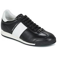 Zapatos Hombre Zapatillas bajas Roberto Cavalli 2042A Negro / Blanco