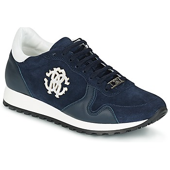 Zapatos Hombre Zapatillas bajas Roberto Cavalli 2058A Marino