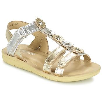 Zapatos Niña Sandalias Start Rite LUNA Oro