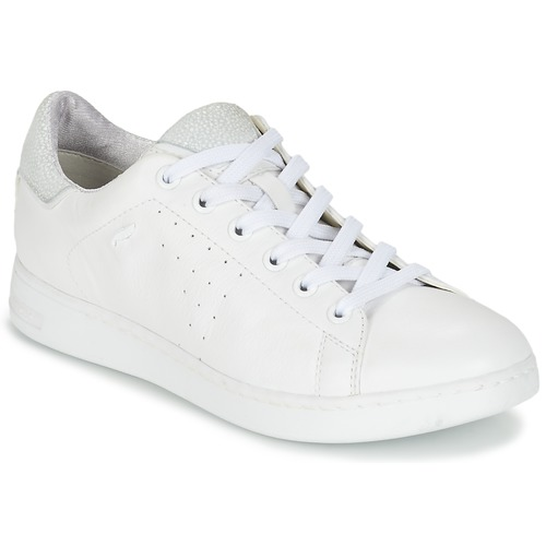 Zapatillas Blanco Mujer A Geox Zapatos Jaysen Bajas 4Rqjc3S5AL