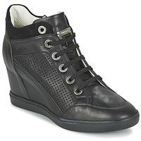 Zapatos Mujer Zapatillas altas Geox ELENI C Negro
