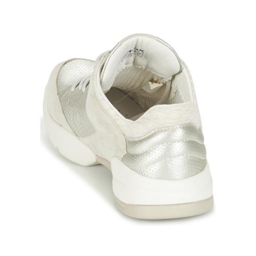 Los zapatos más populares para hombres y mujeres Zapatos especiales Geox SFINGE A Blanco