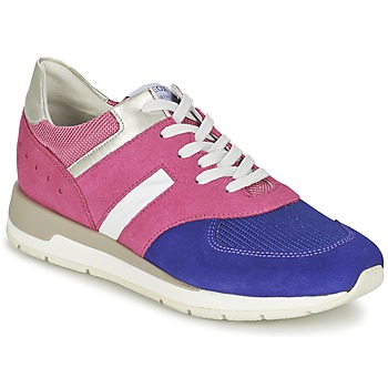 Zapatos Mujer Zapatillas bajas Geox SHAHIRA A Rosa / Violeta