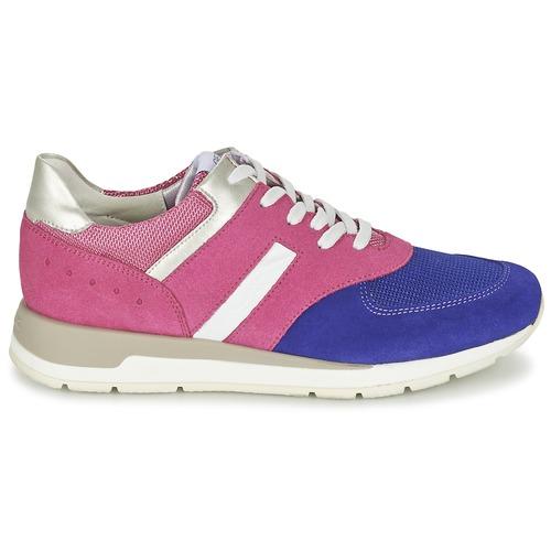 Mujer Zapatos Zapatillas Geox RosaVioleta A Shahira Bajas SGzLqUVpM