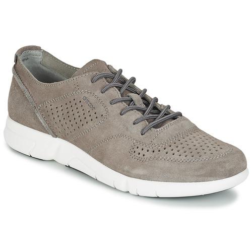 Zapatos de hombres y mujeres de moda casual Geox Gris BRATTLEY A Gris Geox - Envío gratis Nueva promoción - Zapatos Deportivas bajas Hombre ad670c