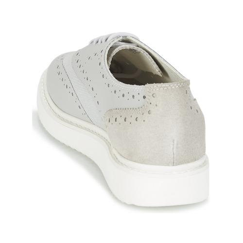 Geox Gris Zapatos Zapatillas B Bajas Mujer Thymar QWxdorCBe