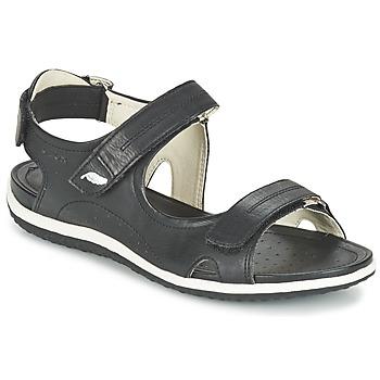 Zapatos Mujer Sandalias de deporte Geox D SAND.VEGA A Negro