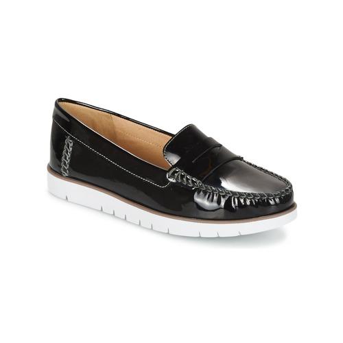 Casual salvaje Zapatos especiales Geox D KOOKEAN F Negro