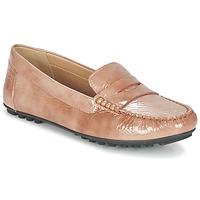 Zapatos Mujer Mocasín Geox D LEELYAN B Beige