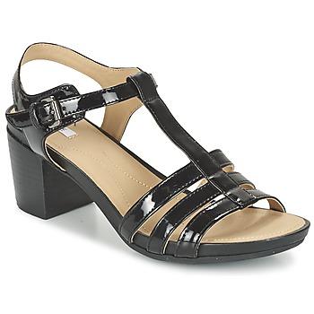 Zapatos Mujer Sandalias Geox D SYMI C Negro