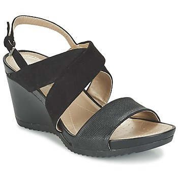 Zapatos Mujer Sandalias Geox D NEW RORIE A Negro