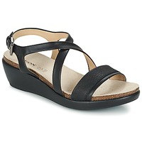 Zapatos Mujer Sandalias Geox D ABBIE A Negro