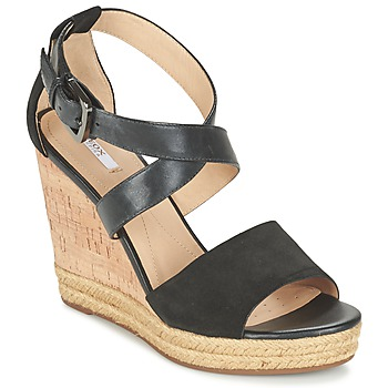 Zapatos Mujer Sandalias Geox D JANIRA E Negro