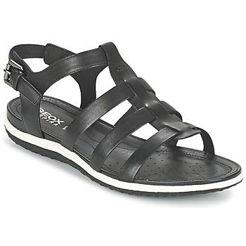 Zapatos Mujer Sandalias Geox D SAND.VEGA A Negro