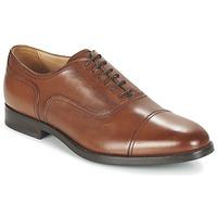 Zapatos Hombre Richelieu Geox U HAMPSTEAD C COGNAC