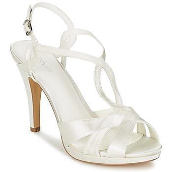 Zapatos Mujer Sandalias Menbur AMPARO Crema