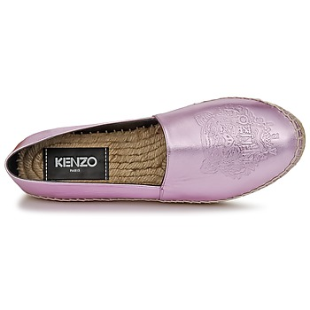 Kenzo TIGER METALIC SYNTHETIC LEATHER Rosa