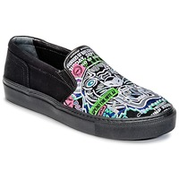 Zapatos Mujer Slip on Kenzo K-SKATE Negro