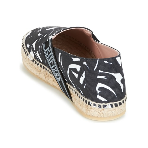 Kenzo Kapri Negro Zapatos Mujer Alpargatas nX0w8OPk