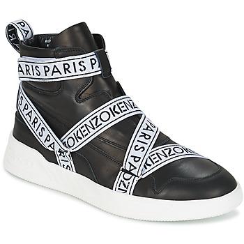 Zapatos Hombre Zapatillas altas Kenzo CALVIN Negro