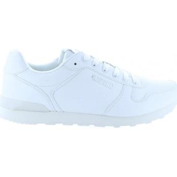 Zapatos Hombre Deportivas Moda Bass3d 40098 Blanco
