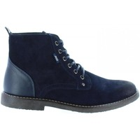Zapatos Hombre Botas de caña baja Xti 45705 Azul