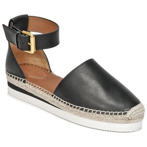 Venta de liquidación de temporada See by Chloé SB26150 Negro - Envío gratis Nueva promoción - Zapatos Alpargatas Mujer  Negro