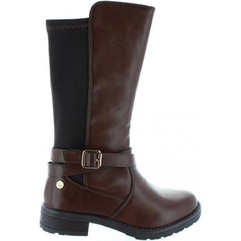 Zapatos Niña Botas urbanas Xti 53967 Marr?n